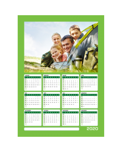 Magnetic Year Calendar A3 Portrait