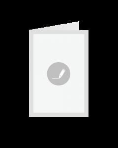 Card Folded 10x14 cm