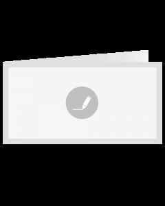 Card Folded 21x10,5 cm